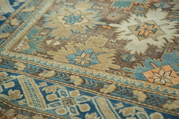 Antique Caucasian Square Rug / Item 4233 image 11