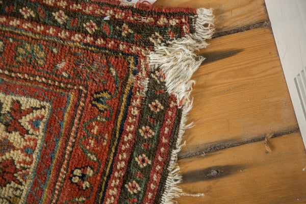 Antique Kurdish Malayer Rug Runner