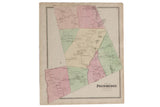 Antique Map of Pound Ridge NY // ONH Item 4316