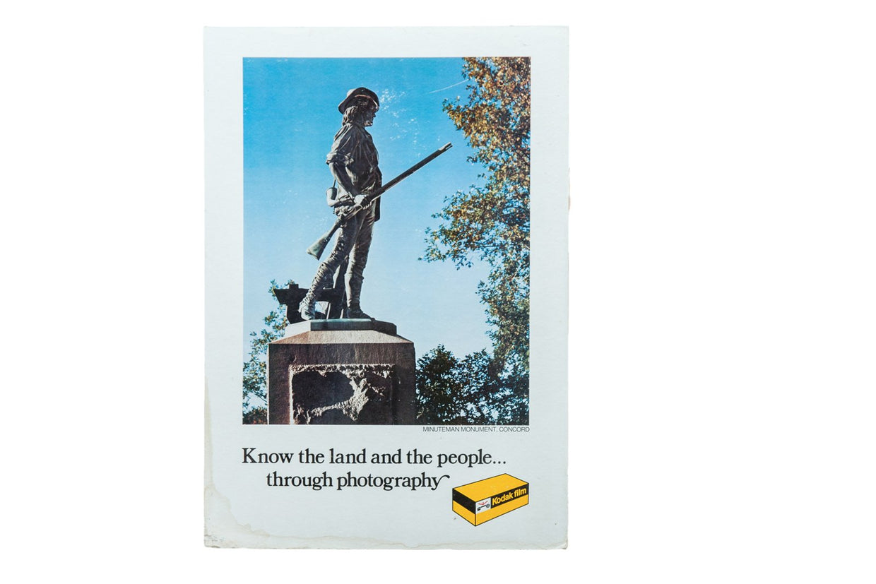 Minuteman Monument, Concord, Massachusetts Kodak Print Advertisement