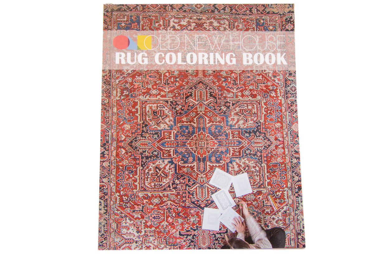 Old New House Rug Coloring Book // ONH Item 4630