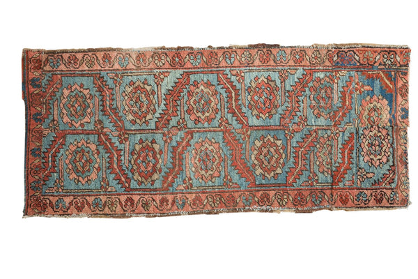 Antique Heriz Rug Fragment