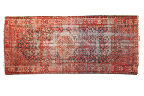 "4'11"" x 11'4"" Antique Malayer Rug Runner / Item 4405 image 1"