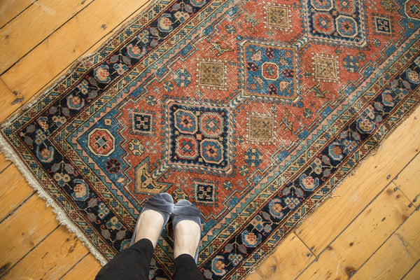 Antique Heriz Rug Runner