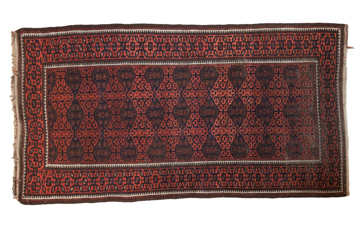 4x7 Antique Belouch Rug // ONH Item 4433
