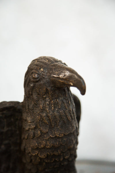 Lost Wax Casting Copper Vintage African Eagle