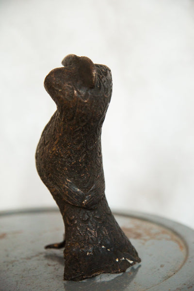 Lost Wax Casting Copper Vintage African Bird