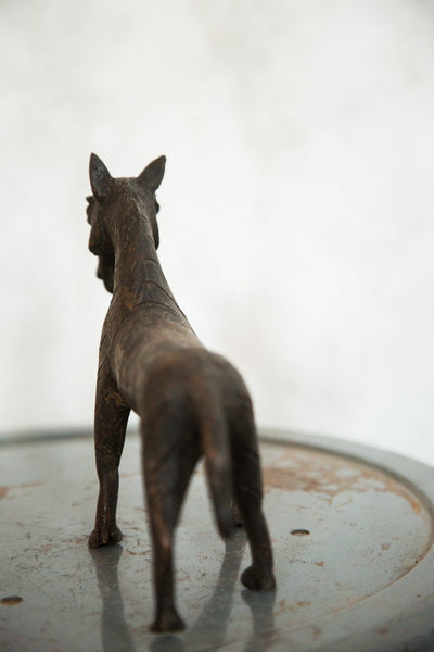 Lost Wax Casting Copper Vintage African Zebra