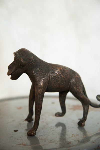 Lost Wax Casting Copper Vintage African Monkey