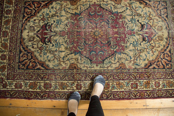 Antique Kermanshah Rug / Item 4621 image 2