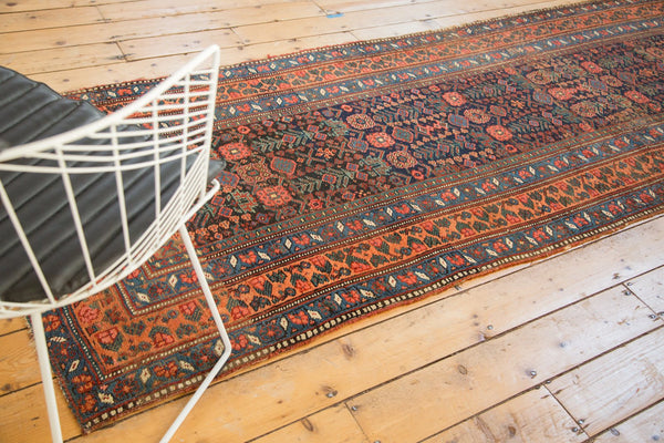 Antique Kurdish Bijar Rug Runner