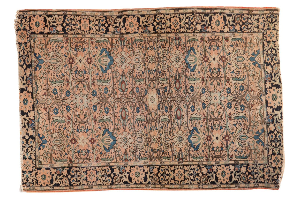 3.5x5 Antique Farahan Sarouk Rug // ONH Item 4627