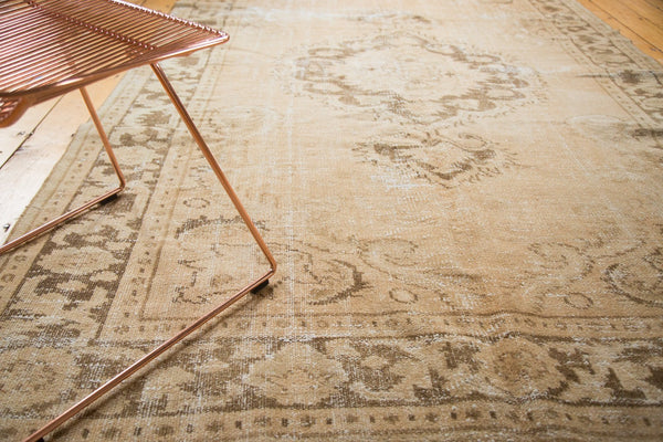 Vintage Distressed Oushak Carpet / Item 4643 image 3