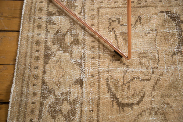 Vintage Distressed Oushak Carpet / Item 4643 image 11