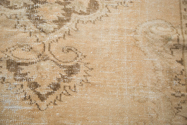 Vintage Distressed Oushak Carpet / Item 4643 image 12