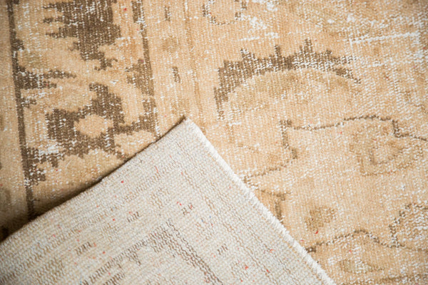 Vintage Distressed Oushak Carpet / Item 4643 image 14