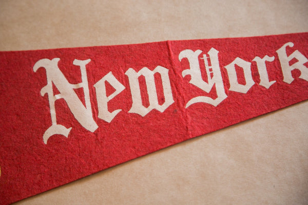 New York Statue of Liberty Felt Flag Banner Pennant