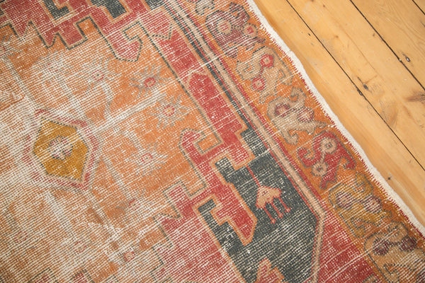 Vintage Distressed Oushak Rug Runner / Item 4728 image 12