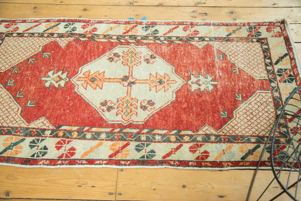 Vintage Distressed Oushak Rug / Item 4736 image 5