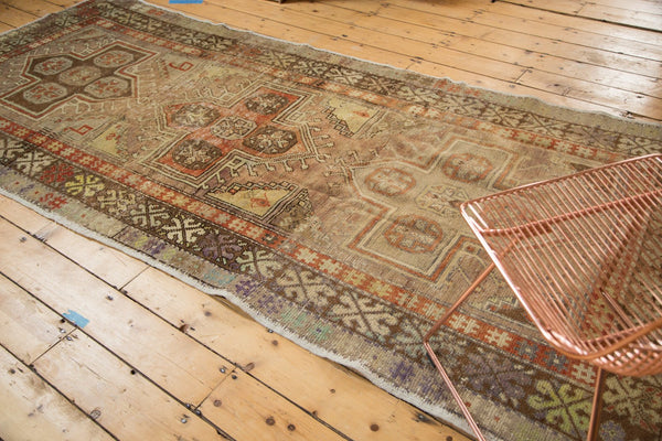 Vintage Distressed Anatolian Rug Runner / Item 4841 image 3