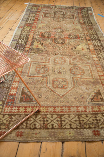 Vintage Distressed Anatolian Rug Runner / Item 4841 image 4