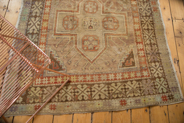 Vintage Distressed Anatolian Rug Runner / Item 4841 image 5