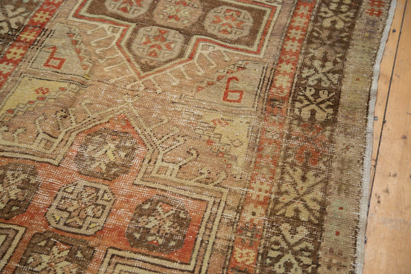 Vintage Distressed Anatolian Rug Runner / Item 4841 image 6