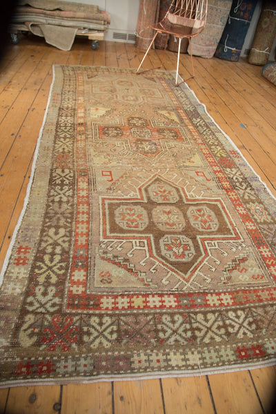Vintage Distressed Anatolian Rug Runner / Item 4841 image 8