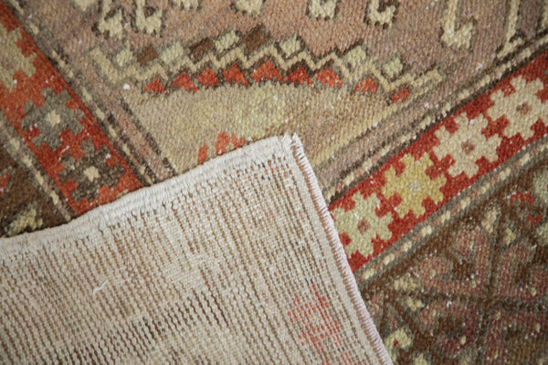 Vintage Distressed Anatolian Rug Runner / Item 4841 image 9