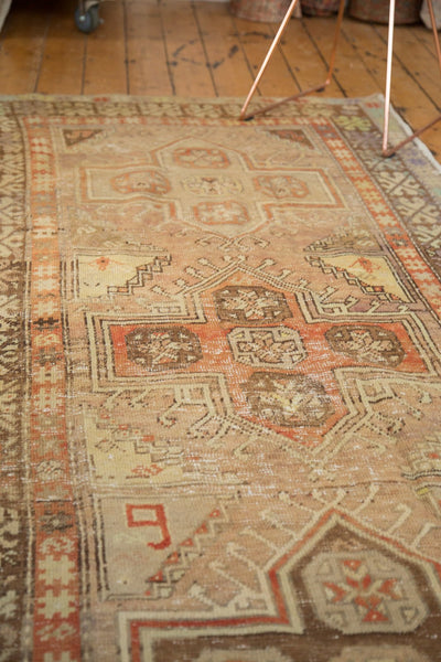 Vintage Distressed Anatolian Rug Runner / Item 4841 image 10