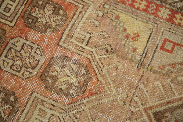 Vintage Distressed Anatolian Rug Runner / Item 4841 image 11