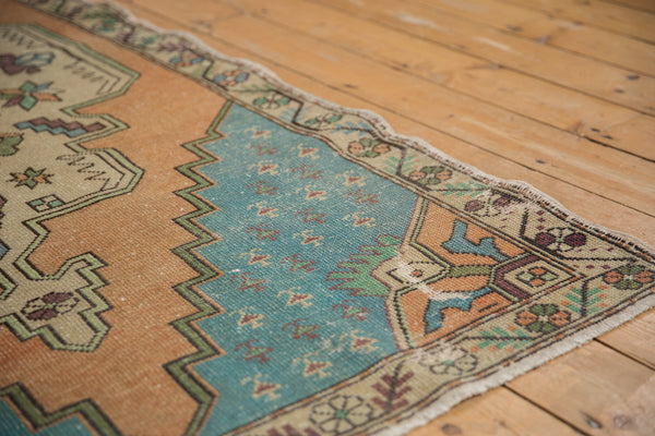 Vintage Distressed Oushak Rug Runner / Item 4851 image 6