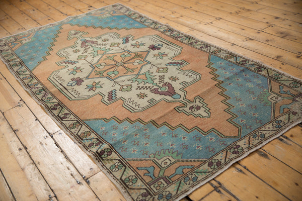 Vintage Distressed Oushak Rug Runner / Item 4851 image 7