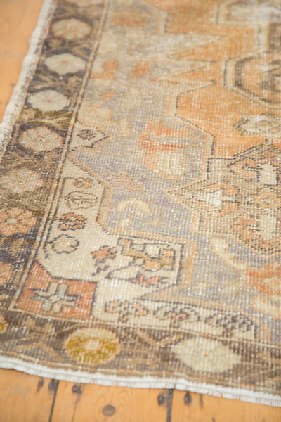 Vintage Distressed Oushak Rug / Item 4856 image 8