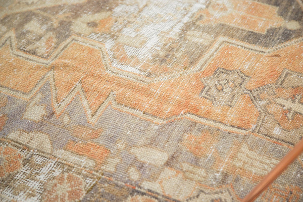 Vintage Distressed Oushak Rug / Item 4856 image 11