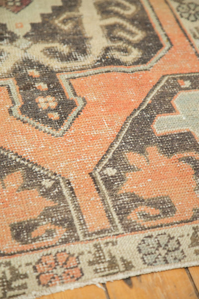 Vintage Distressed Oushak Rug Runner / Item 4893 image 9