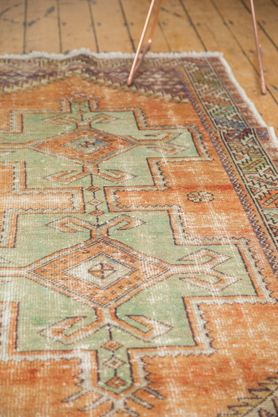 Vintage Distressed Oushak Rug / Item 4917 image 7
