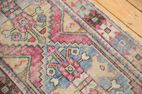 3x8 Vintage Distressed Oushak Rug Runner / Item 4921 image 7