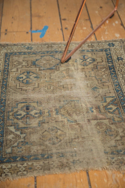Antique Chi Chi Square Rug Mat / Item 4963 image 7