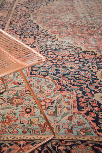 Antique Farahan Sarouk Rug Runner / Item 4964 image 4