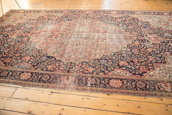 Antique Farahan Sarouk Rug Runner / Item 4964 image 5