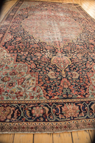 Antique Farahan Sarouk Rug Runner / Item 4964 image 6