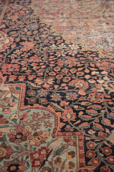 Antique Farahan Sarouk Rug Runner / Item 4964 image 7