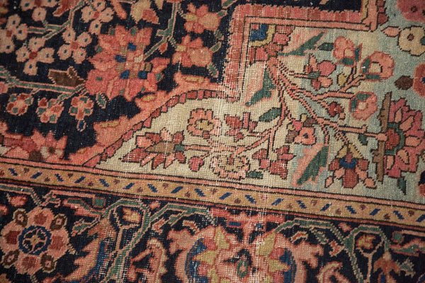 Antique Farahan Sarouk Rug Runner / Item 4964 image 9