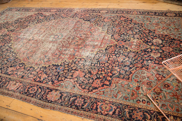 Antique Farahan Sarouk Rug Runner / Item 4964 image 10
