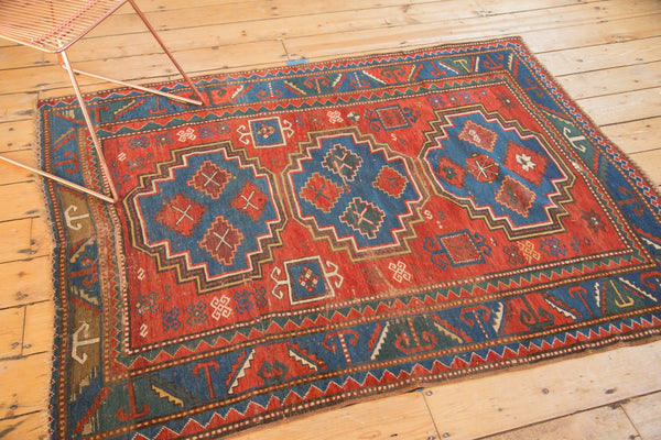 Antique Caucasian Rug / Item 4997 image 5