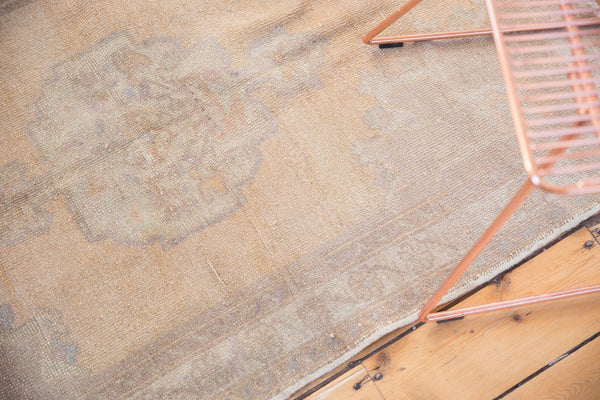 Vintage Distressed Oushak Rug / Item 5034 image 5