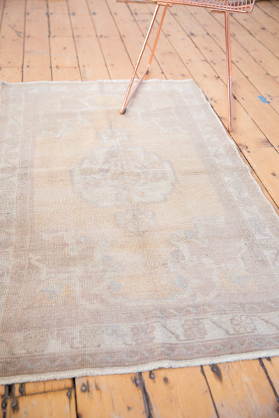 Vintage Distressed Oushak Rug / Item 5034 image 6
