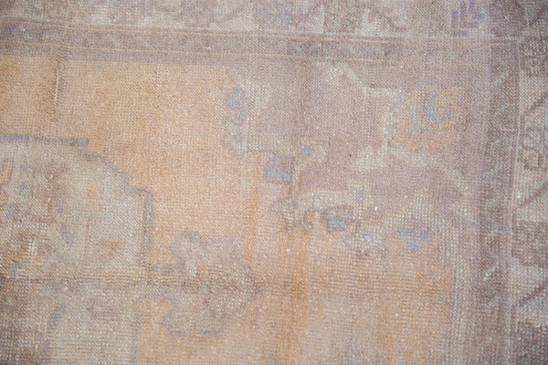Vintage Distressed Oushak Rug / Item 5034 image 8