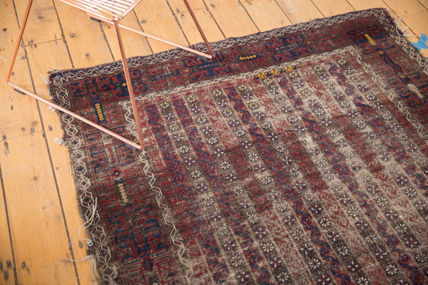 Antique Belouch Square Rug